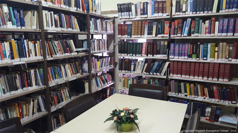 صورة المكتبة في الكلية - صورة اصلية