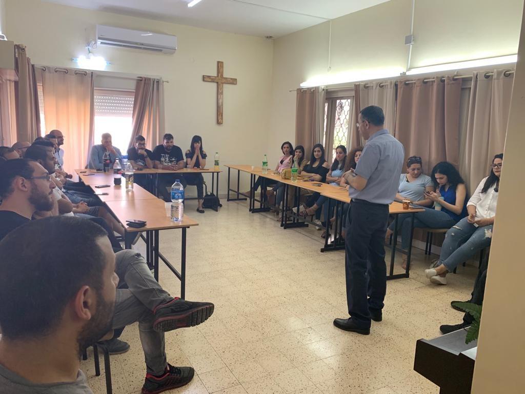 لقاء قادة الشباب في كلية الناصرة الإنجيلية - 2
