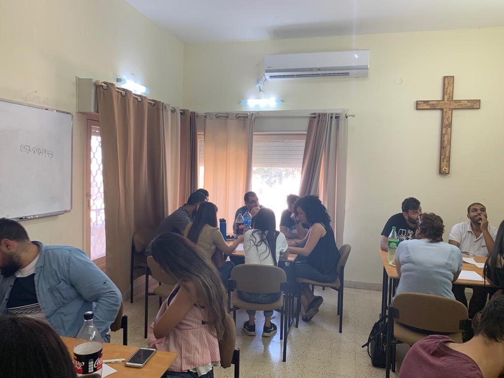 لقاء قادة الشباب في كلية الناصرة الإنجيلية - 7