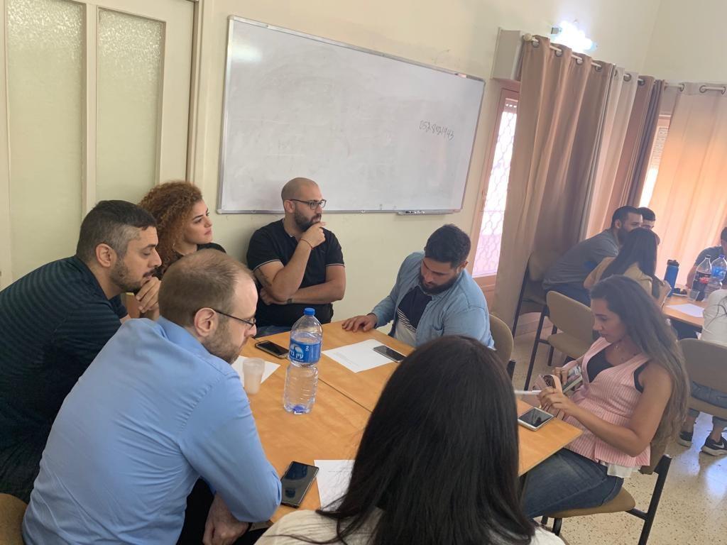 لقاء قادة الشباب في كلية الناصرة الإنجيلية - 6