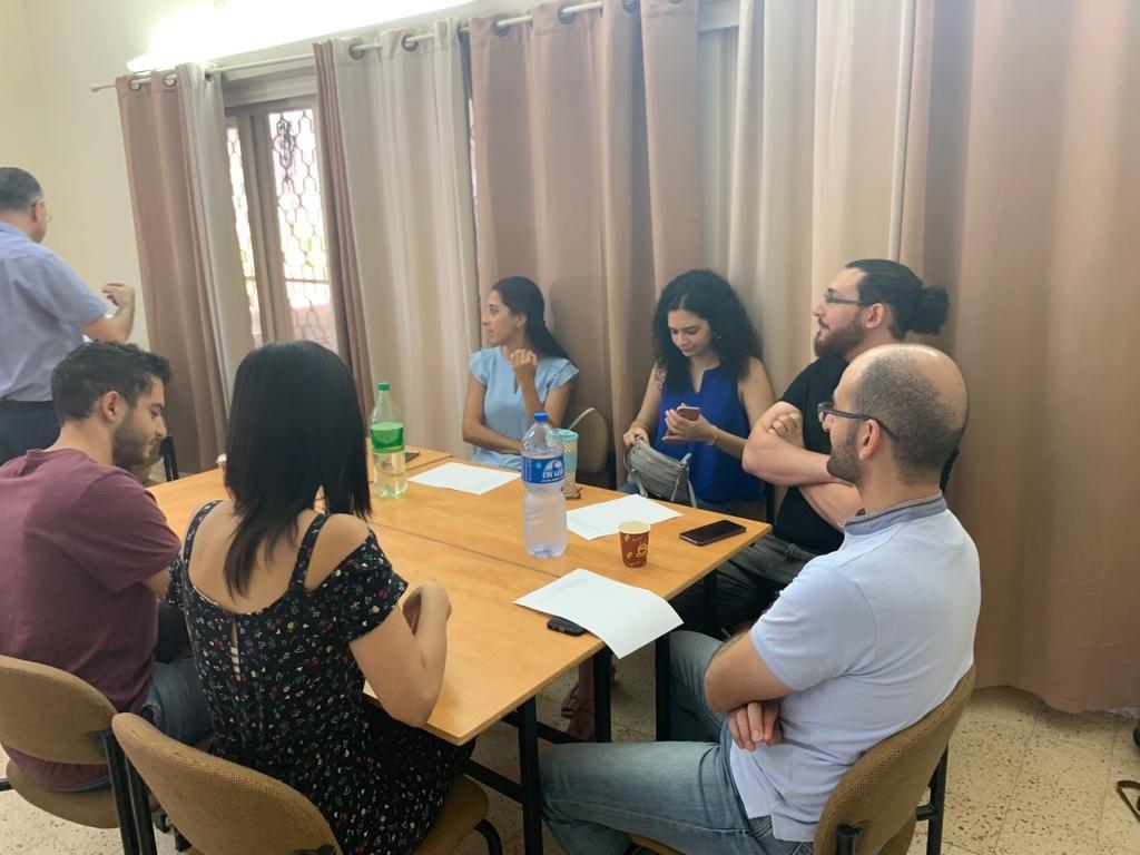 لقاء قادة الشباب في كلية الناصرة الإنجيلية - 5