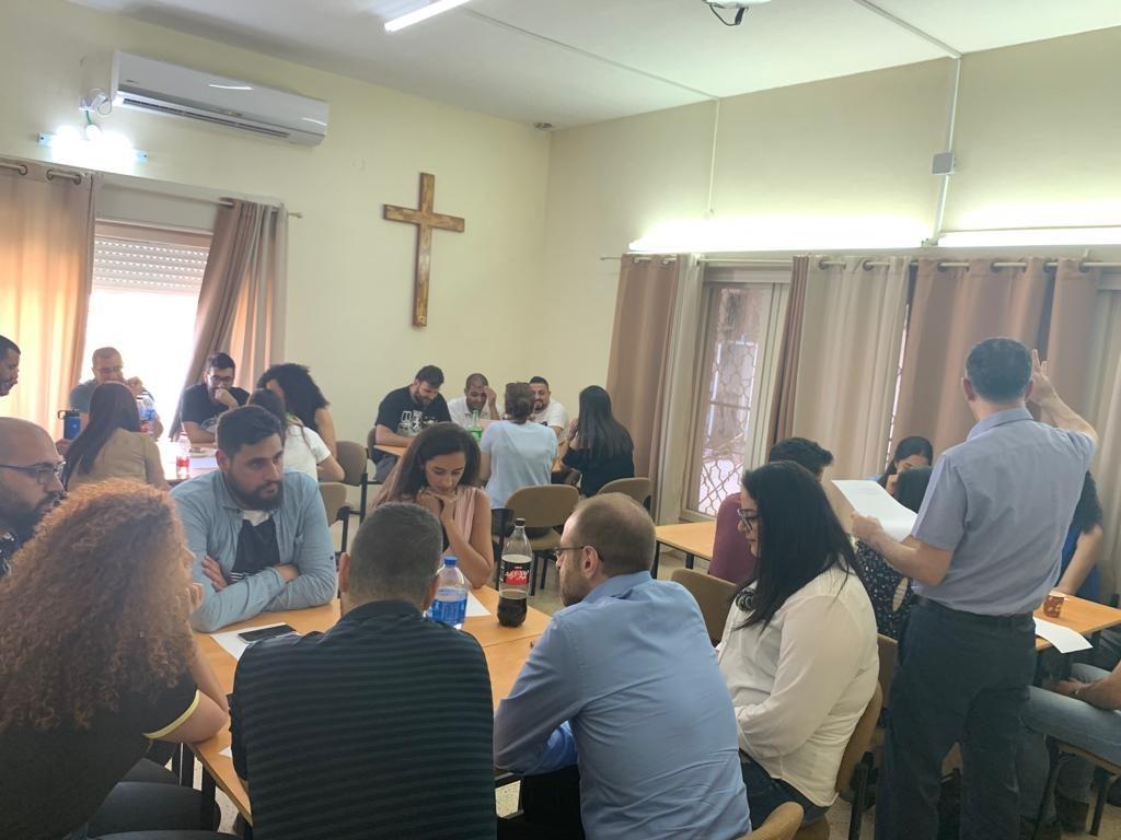لقاء قادة الشباب في كلية الناصرة الإنجيلية - 3