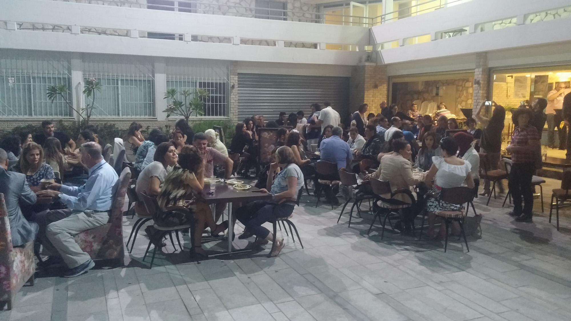 Lunch break at GLS